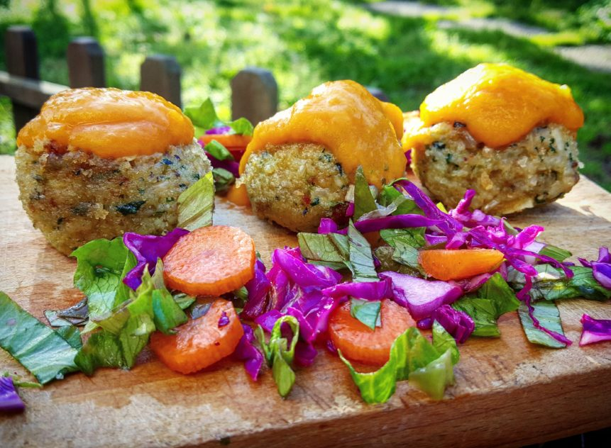 Vegetable balls with pumpkin cream: how to prepare them at home in an easy way!