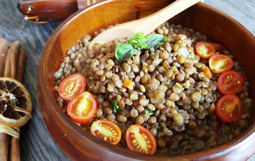 Lentil soup according to Natural Hygiene: to serve