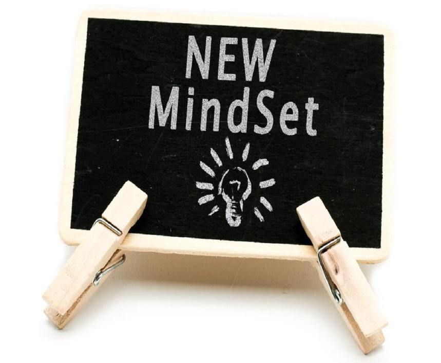 If you can think of it, you can do it: new mindset