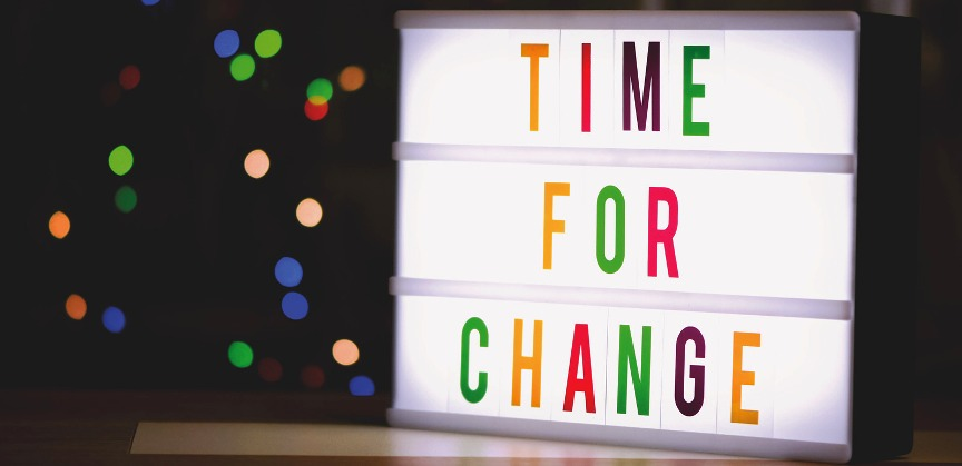 sometime changes are necessary